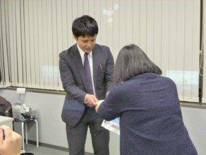 非常に残念なことですが、営業の山崎さんがこの日を持ってFLNから別のステージへ進むことになりました。