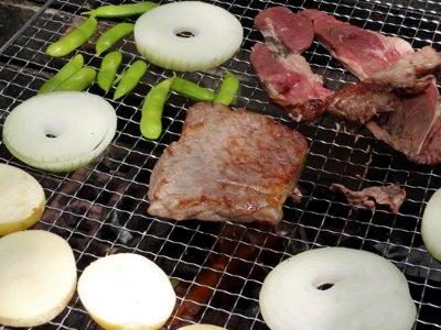 焼ける高級肉!