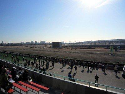 船橋競馬場です。